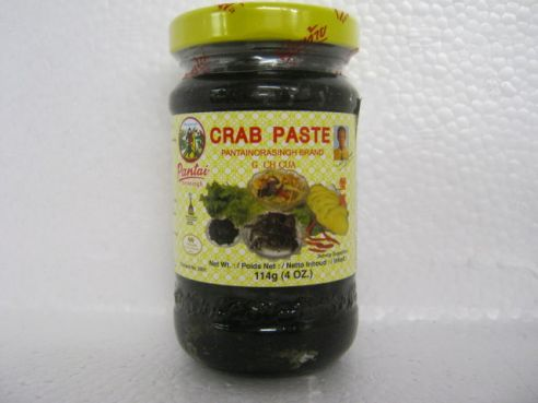 Crab Paste, Krebspaste, Pantainorasingh, 114g